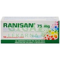 Ranisan 75mg 10 tablet
