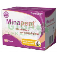 Minapent + šalvěj lékařská 90 tablet