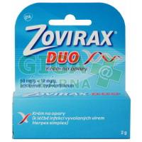 Zovirax Duo 50mg/g + 10mg/g krém 2g