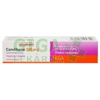 Candibene 200mg 3 vaginální tablety