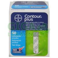 Proužky diagnostické Contour PLUS 50ks