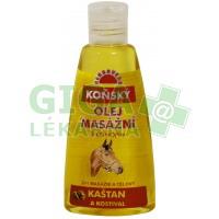 Koňský olej HERBAVERA masážní s kaštanem 150ml