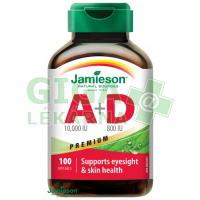 JAMIESON Vitamíny A+D 10000/800IU Premium cps.100