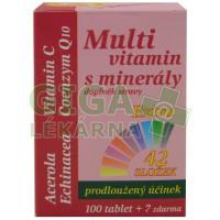 MedPharma Multivitamín s minerály+extra C 107 tablet