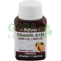MedPharma Vitamín A+D 37 tobolek