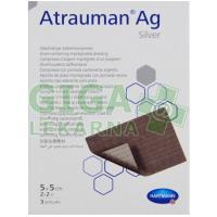 Kompres Atrauman AG 5x5cm 3ks sterilní 499 570