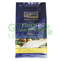 Fish4Dogs Finest Ocean White Fish Adult Medium 1,5kg