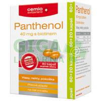 Cemio Panthenol 40mg s biotinem 60+20 kapslí