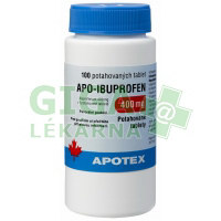 Apo-Ibuprofen 400mg 100 tablet