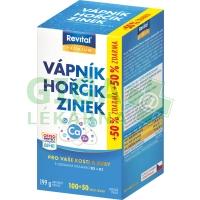 Revital Vápník+hořčík+zinek+vit.D3+K1 100+50 tablet