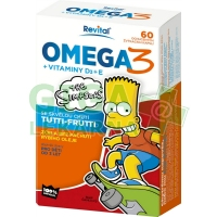 The Simpsons Omega 3+vitaminy D a E cps.60 Revital