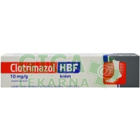 Clotrimazol HBF krém 50g