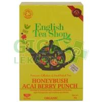 English Tea Shop Bio Punč s Medovým Keřem, Ovocem Acai 20s.