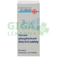 Ferrum phosphoricum DHU 80 tablet D12 (No.3)