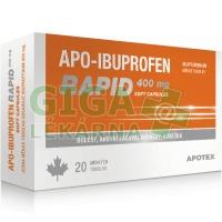 APO-IBUPROFEN RAPID 400 MG SOFT CAPSULES 400MG CPS MOL 20 I
