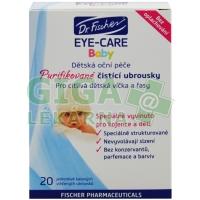 Oční ubrousky Dr.Fischer Eye-Care Baby 20ks