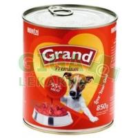 GRAND konz. pes hovězí 850g