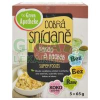 Green Apotheke Dobrá snídaně KAKAO a BAOBAB 5x65G