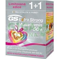 GS Extra Strong Multivitamin 50+ tbl.60+60 d.2017