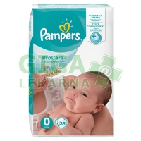 Pampers Pro Care Plenky S0 38ks