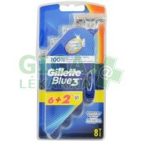 Gillette Blue3 holítka 6+2ks