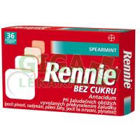 Rennie Spearmint bez cukru žvýkací tablety 36