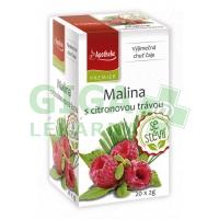 Apotheke Malina s citronovou šťávou čaj se stévií 20x2g n.s.