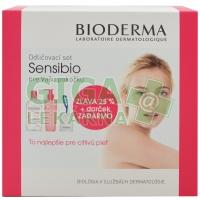BIODERMA Sensibio H2O 500ml+Gel mousant200ml+tamp.