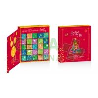 English Tea Shop Bio Adventní kalendář červená kniha 25 pyramidek