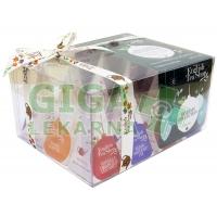 English Tea Shop Bio Kolekce zelené ozdoby 12 pyramidek