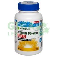 Swiss NatureVia Vitamin D3-Efekt 2000IU 90 tablet