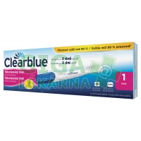 Clearblue PLUS rychlá detekce těhotenský test 1ks