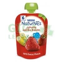 NESTLÉ kapsička ovocná Jahoda/Jablko/Banán 90g CZ