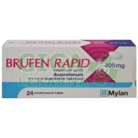 Brufen rapid 400mg 24 tablet