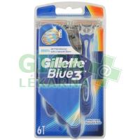 Gillette Blue3 pánská holítka 6ks