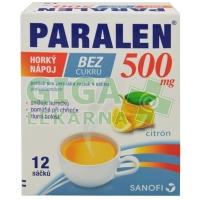 Paralen horký nápoj bez cukru 500mg 12 sáčků