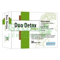 Duo Detox herbal 30 tablet Generica