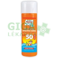 SUN Kids opal. mléko s betacarotenem SPF50 200ml