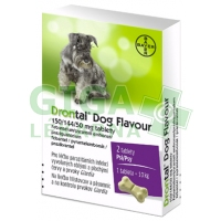 Drontal Dog Flavour 2 tablety