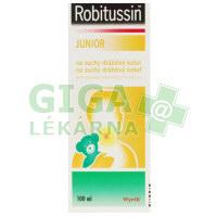 Robitussin Junior sirup na suchý dráždivý kašel 100ml