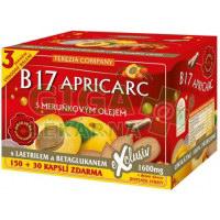 B17 APRICARC s meruňkovým olejem 150+30 kapslí TC