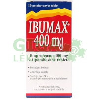 Ibumax 400mg 10 tablet
