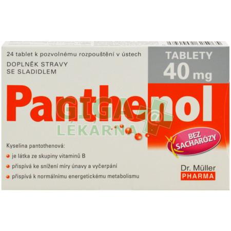 Panthenol 40mg 24 tablet - GigaLékárna.cz a2f6d0ab750