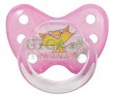 BABY NOVA dudlík Dentistar v.2 kroužek-se zoubky