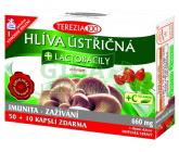 Hlíva ústřičná + lactobacily + vitamin C cps.50+10