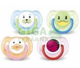 AVENT Šidítko Zvířátko 6-18 měsíců bez BPA 2ks