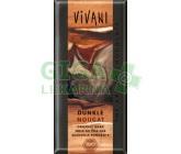 Hořká čokoláda nugátová VIVANI 100g-BIO