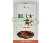 Chilli krekry s EP olivovým olejem 130g-BIO