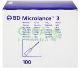 BD Microlance Inj. jehla 25G 0.50x16 oranž.100ks