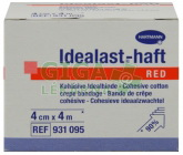 Obin. elast.Idealast color 4cmx4m/1ks červ.9311851